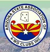 Arizona State Associationof 4-WD Clubs  Logo